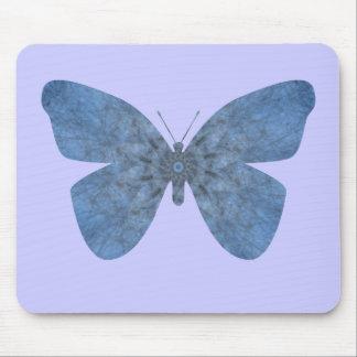Borboleta desvanecida do azul mousepad