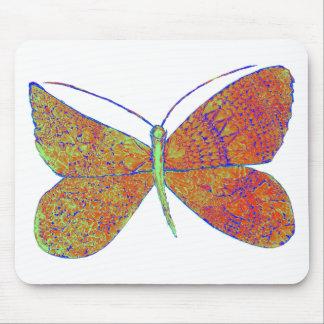 Borboleta do coração de Neverland Mouse Pad