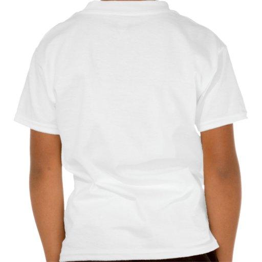 Borboleta do coração camiseta