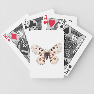 Borboleta pequena de Apollo Baralhos Para Pôquer