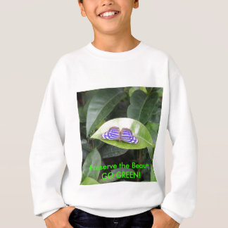 Borboleta - VAI o VERDE! Camiseta