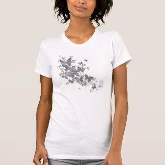 Borboletas desvanecidas camiseta