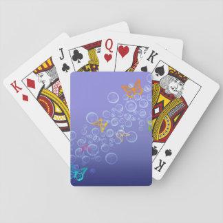 Borboletas e bolhas jogo de carta