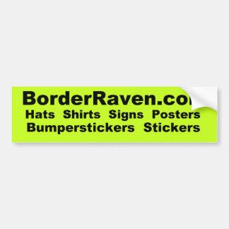 BorderRaven.com Bumpersticker Adesivo Para Carro
