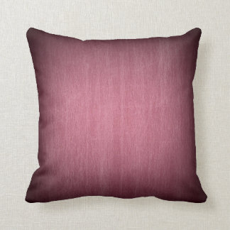 Borgonha desvanece-se marrom afligido travesseiro de decoração