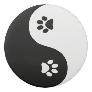 Borracha Eliminador redondo bonito de Yin Yang da pata