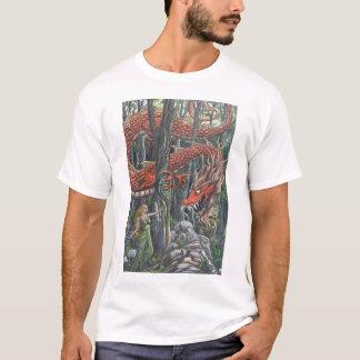 Bosque-Guardião (pintura por Chris Howell) T-shirts