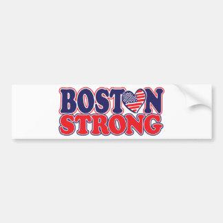 Boston forte adesivo para carro