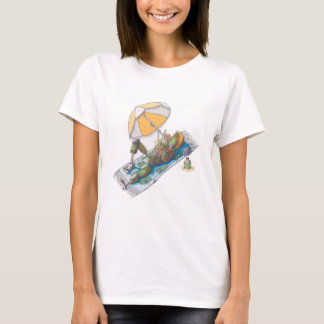 Bot da praia camiseta