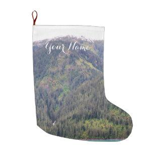 Bota De Natal Grande Estoque da floresta e das montanhas