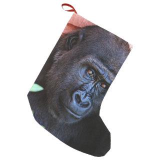 Bota De Natal Pequena gorila impressionante 1215P