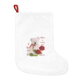 Bota De Natal Pequena meias do Natal