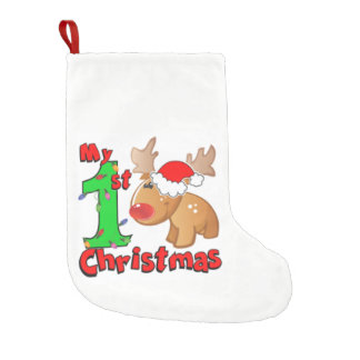 Bota De Natal Pequena Minha ?a rena do Natal
