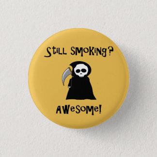 Botão ainda de fumo do Ceifador Bóton Redondo 2.54cm