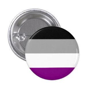Botão assexuado da bandeira bóton redondo 2.54cm