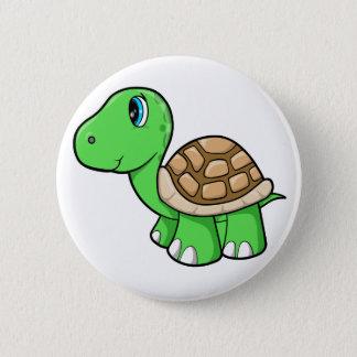 Botão bonito da tartaruga bóton redondo 5.08cm