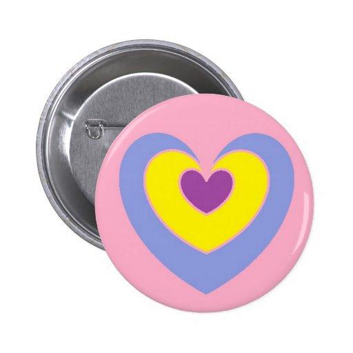 Botão bonito do coração boton