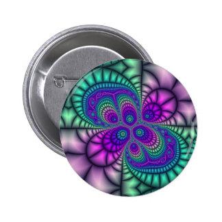 Botão celular do mosaico bóton redondo 5.08cm