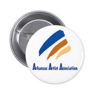 Botão da associação do artista de Arkansas Pins