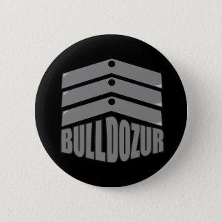 """Botão da """"brasão"""" de Bulldozur Bóton Redondo 5.08cm"""