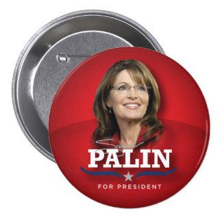 Botão da foto de Sarah Palin Bóton Redondo 7.62cm
