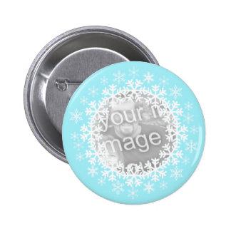 Botão da foto do floco de neve boton