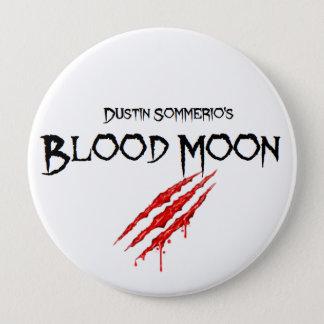 Botão da lua do sangue bóton redondo 10.16cm