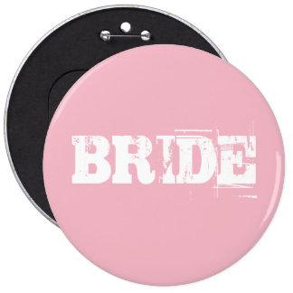 Botão da noiva bóton redondo 15.24cm