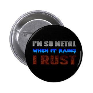Botão da oxidação do metal pins