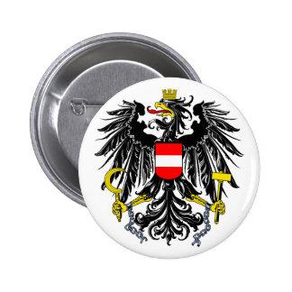 Botão de brasão de Áustria Pins