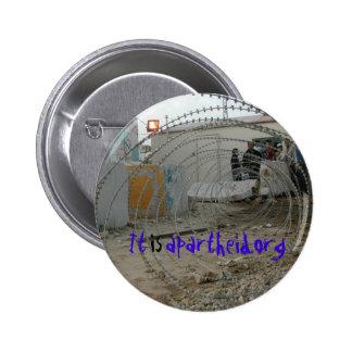 botão de itisapartheid.org bóton redondo 5.08cm