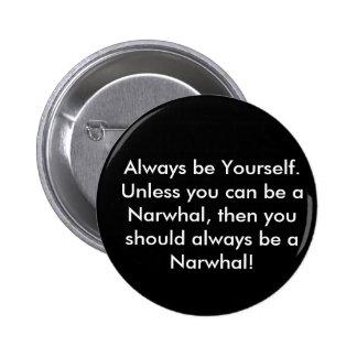 Botão de Narwhal Botons