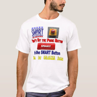 Botão de SMARET Camiseta
