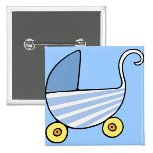 botão do carrinho de criança do bebé botons