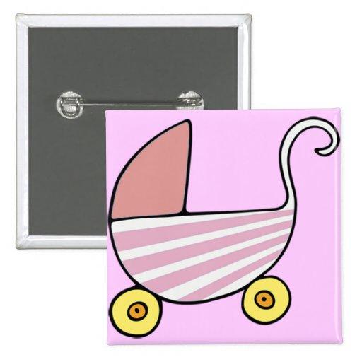 botão do carrinho de criança do bebé boton