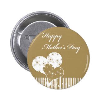 Botão do dia das mães bóton redondo 5.08cm