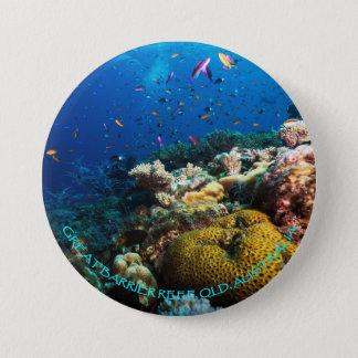 Botão do mar coral bóton redondo 7.62cm