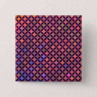Botão do mosaico bóton quadrado 5.08cm