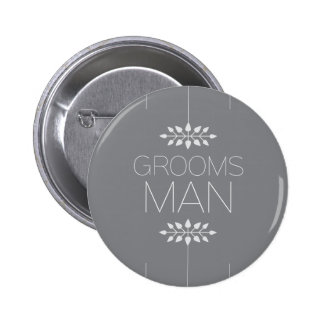 Botão do padrinho de casamento bóton redondo 5.08cm