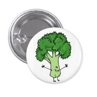 Botão dos brócolos bóton redondo 2.54cm