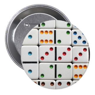 Botão dos dominós bóton redondo 7.62cm