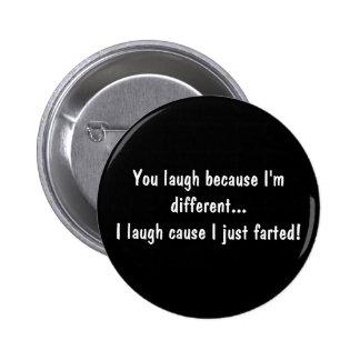 Botão engraçado botons