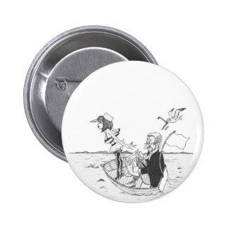Botão engraçado da navigação bóton redondo 5.08cm