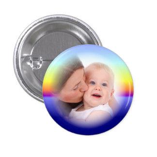 Botão feito sob encomenda do quadro da foto do por bóton redondo 2.54cm
