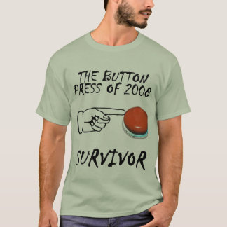 Botão-Imprensa Tshirt