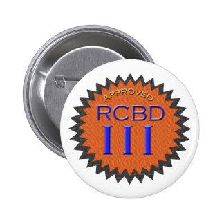 Botão legal do selo de aprovação do dia de Rockin  Bóton Redondo 5.08cm