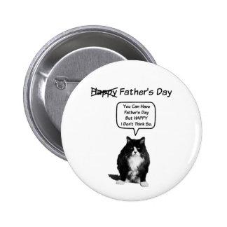 Botão mal-humorado engraçado do dia dos pais do bóton redondo 5.08cm