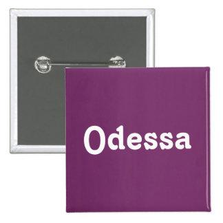 Botão Odessa Bóton Quadrado 5.08cm