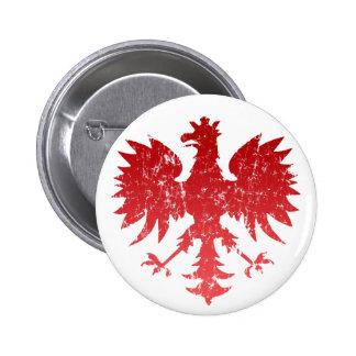 Botão polonês de Eagle Bóton Redondo 5.08cm