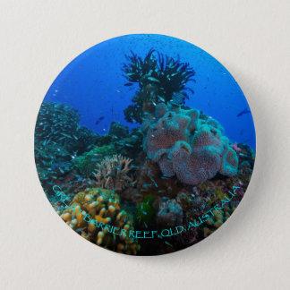 Botão redondo do mar coral bóton redondo 7.62cm